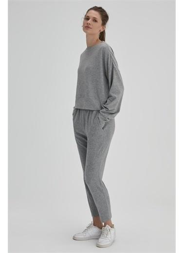 Dagi Pijama Üst Gri